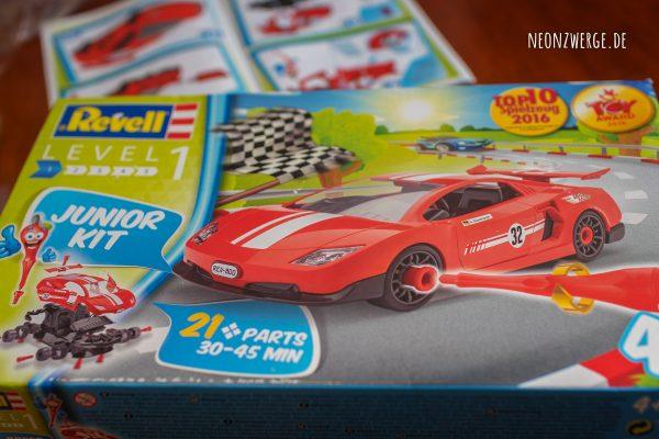 Revell Junior Kit - Modellbausatz Race Car - Kinder