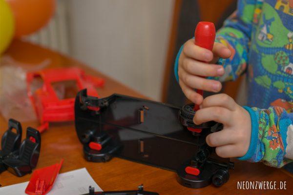 Revell Junior Kit - Modellbausatz Kinder Rennauto Racecar ab 4 Jahren