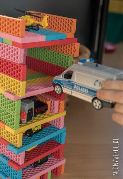 BioBlos - Bioblo - Bunte Bausteine/ Bauklötze aus recyelbarem Material - Ökologsiches Spielzeug