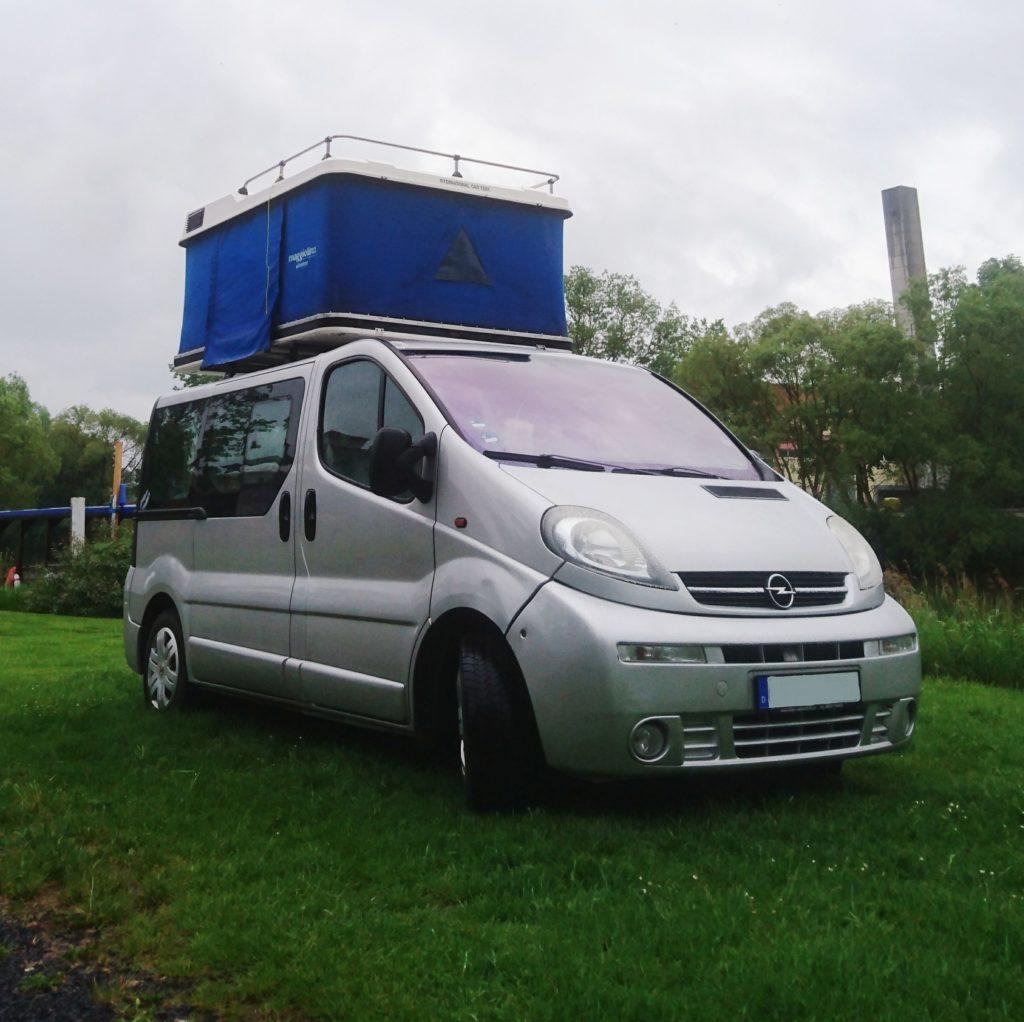 Opel Vivaro Camper Maggiolina Dachzelt